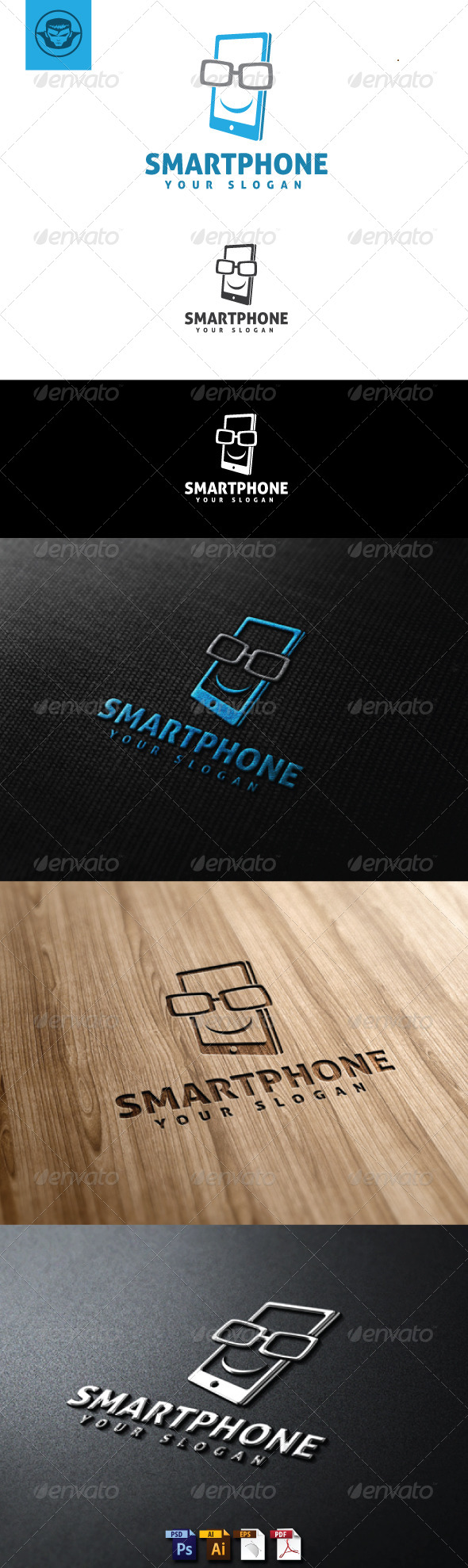Smartphone Logo Template - Objects Logo Templates