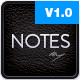 Notes - Personal WordPress Theme - ThemeForest Item for Sale