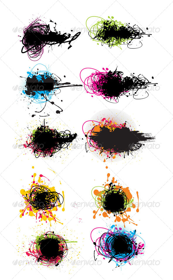 GraphicRiver Grunge Element 4937627