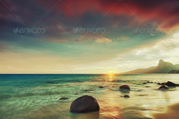 Sunrise - Stock Photo - Images