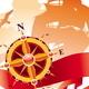 Adventures Design - Compass Rose & Sail Ship