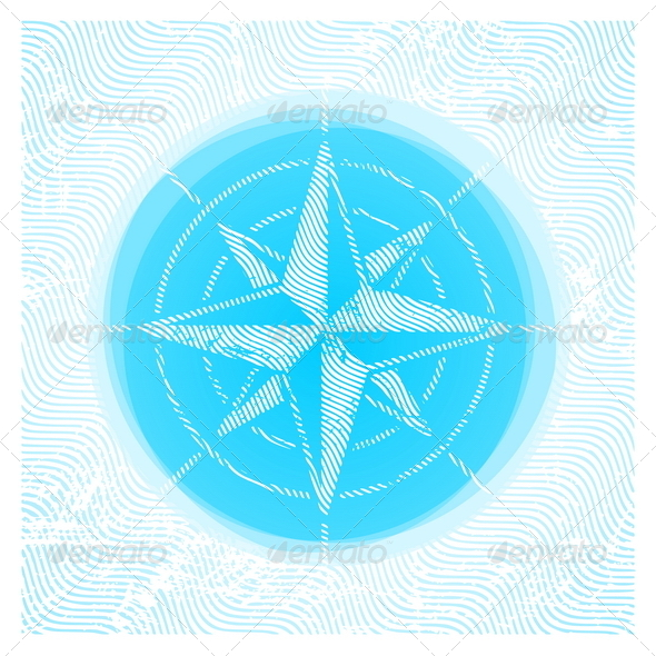GraphicRiver Vector Compass Rose 4938579