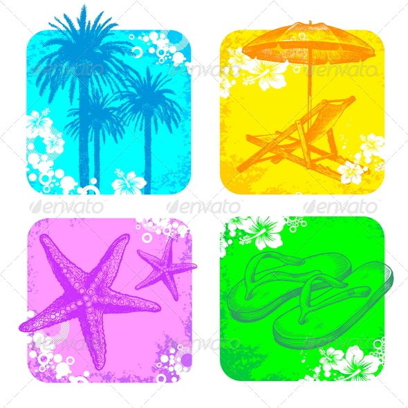 GraphicRiver Hand Drawn Tropical Illustration 4938856