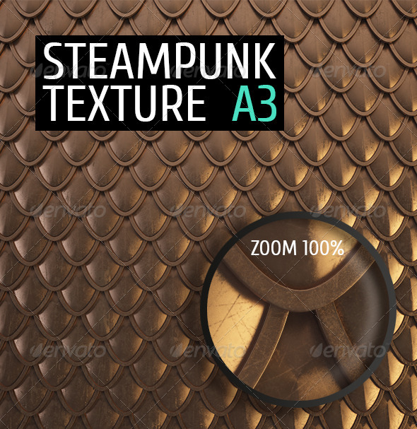 GraphicRiver Steampunk Texture A3 4938959