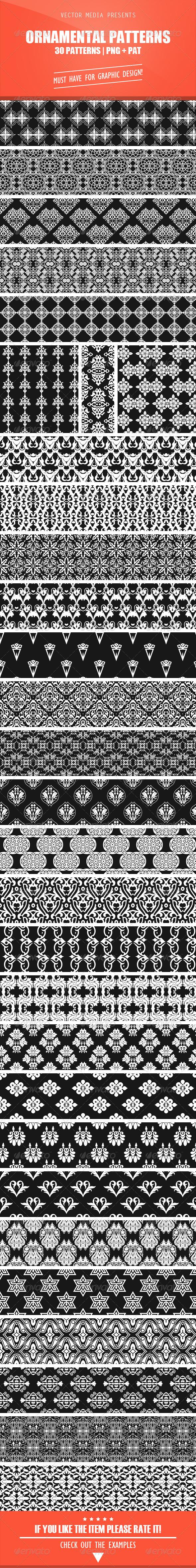 GraphicRiver Ornamental Patterns 4939137