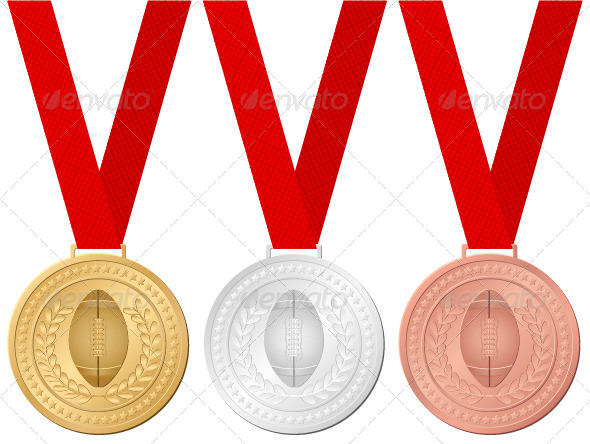 GraphicRiver Medals Football 4939144