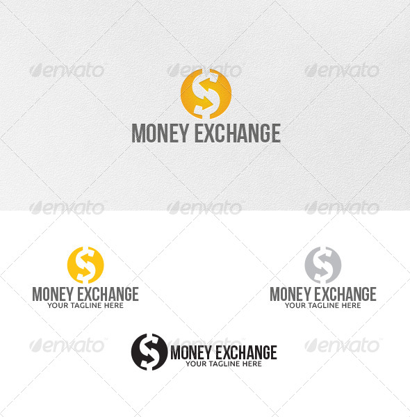 GraphicRiver Money Exchange Logo Template 4939196