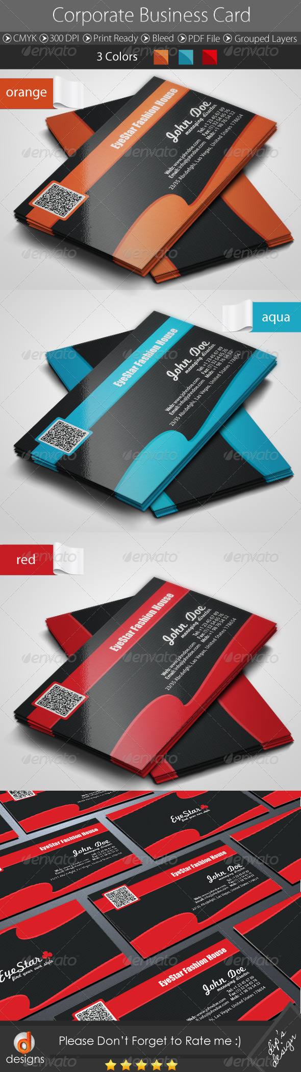 GraphicRiver Corporate Business Card 4657995