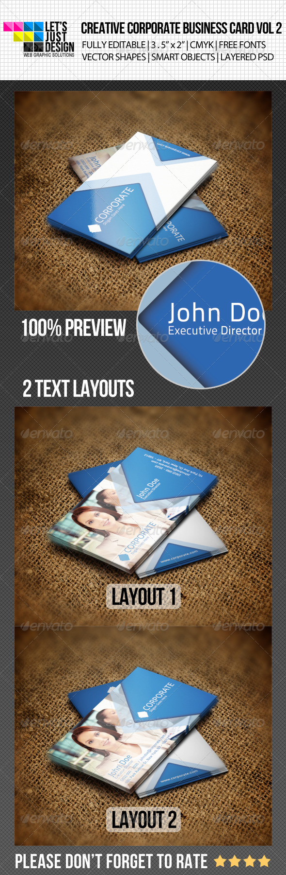 GraphicRiver Creative Corporate Business Card Vol 2 4939542