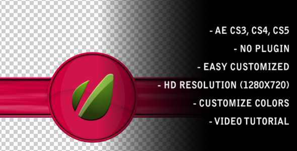 After Effects Project - VideoHive Round Lower Third 509576