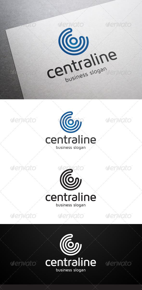 GraphicRiver Centraline Logo 4939834