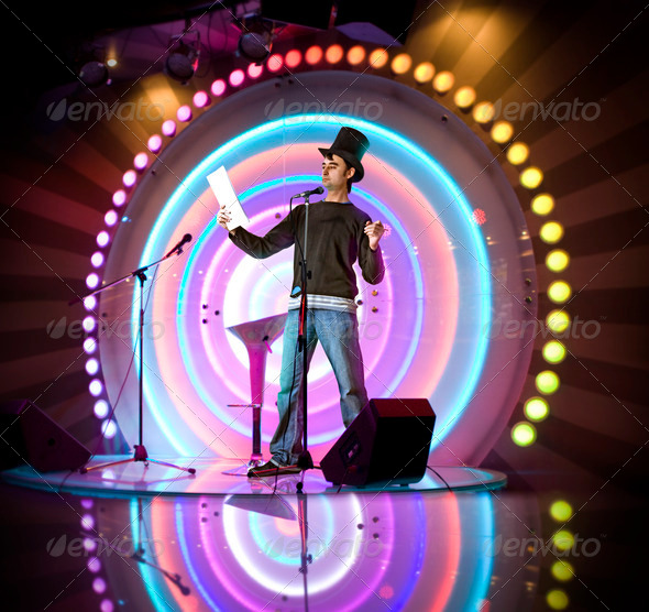 entertainer - Stock Photo - Images