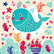 Funny Whale - GraphicRiver Item for Sale