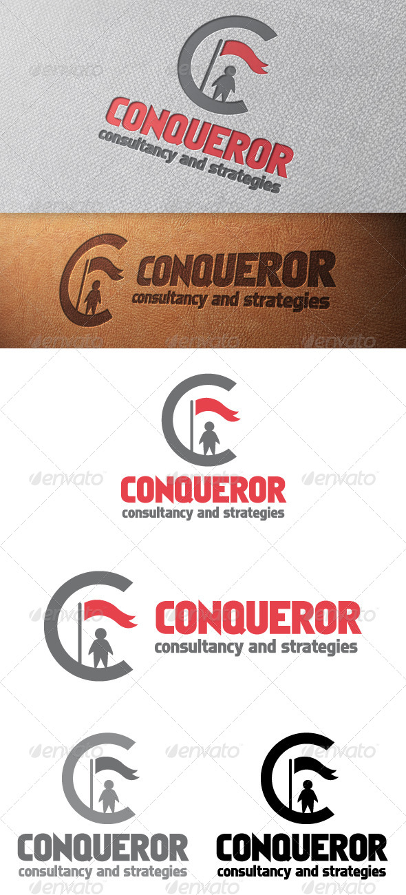 GraphicRiver Conqueror Letter C Logo Template 4940211