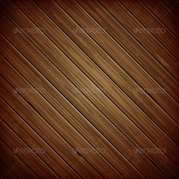 Wooden Plank Dark Background
