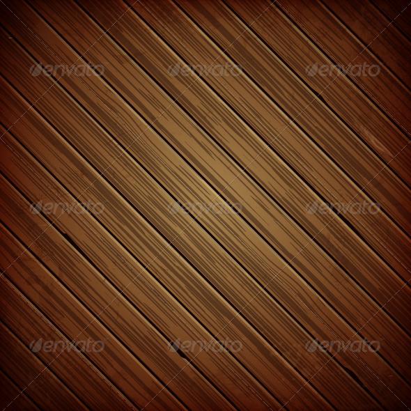 GraphicRiver Wooden Plank Dark Background 4940254