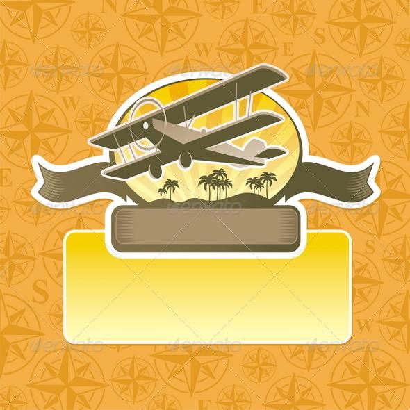 GraphicRiver Vector Adventure and Travel Emblem 4940266