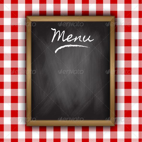 GraphicRiver Menu Background 4940274