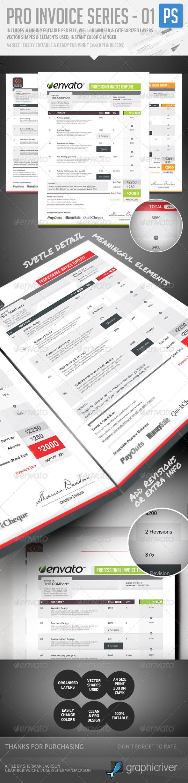 GraphicRiver Pro Invoice Template Series 01 4869846