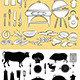 Barbecue Icon Set - GraphicRiver Item for Sale