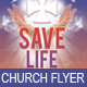 Save Life Church Flyer Template - GraphicRiver Item for Sale