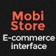 Mobi-store:Mobile E-Commerce User - Interface - GraphicRiver Item for Sale