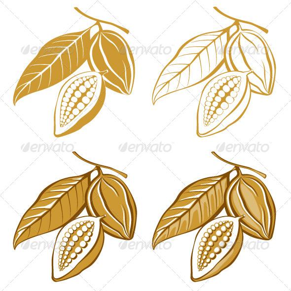 GraphicRiver Cacao Beans 4942663