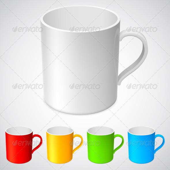 GraphicRiver Cups 4942698