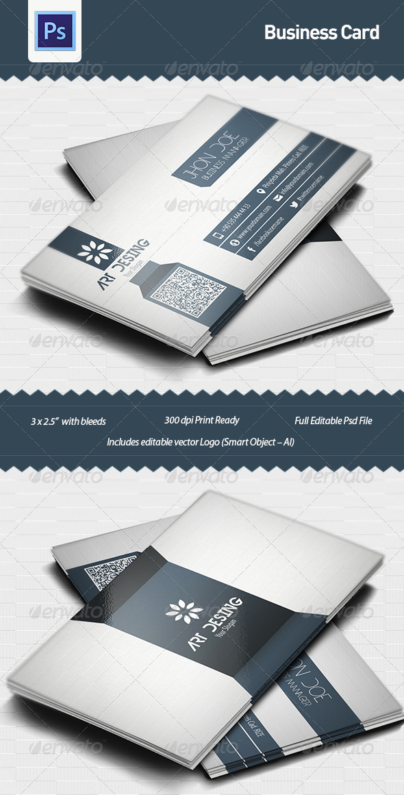 GraphicRiver Business Card Template 4942921