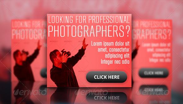 Photographer Ad Banner Set