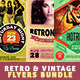 Retro Flyers Bundle - GraphicRiver Item for Sale