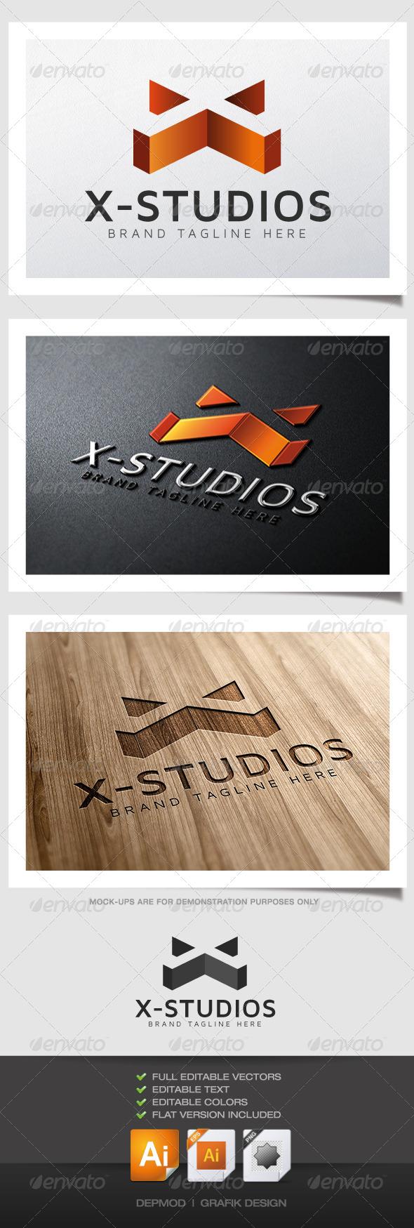 GraphicRiver X-Studios Logo 4943133