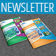 Multipurpose Business Newsletter/Magazine Vol-01 - GraphicRiver Item for Sale