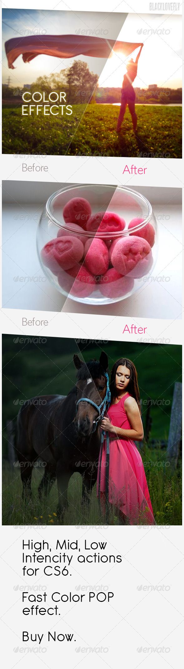 Photo Color Effects - Photo Effects Actions