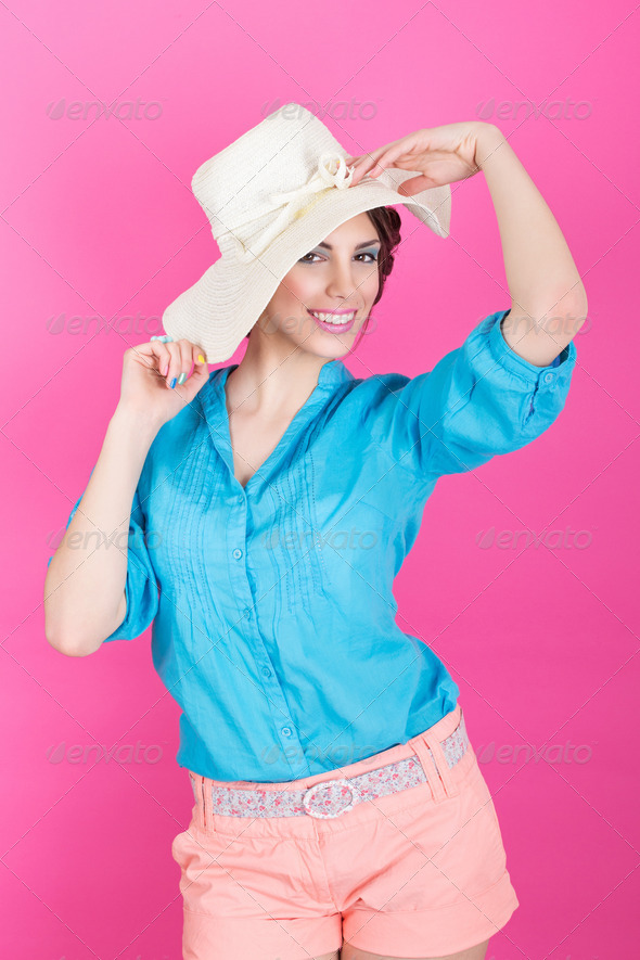 Summer fashion - Stock Photo - Images