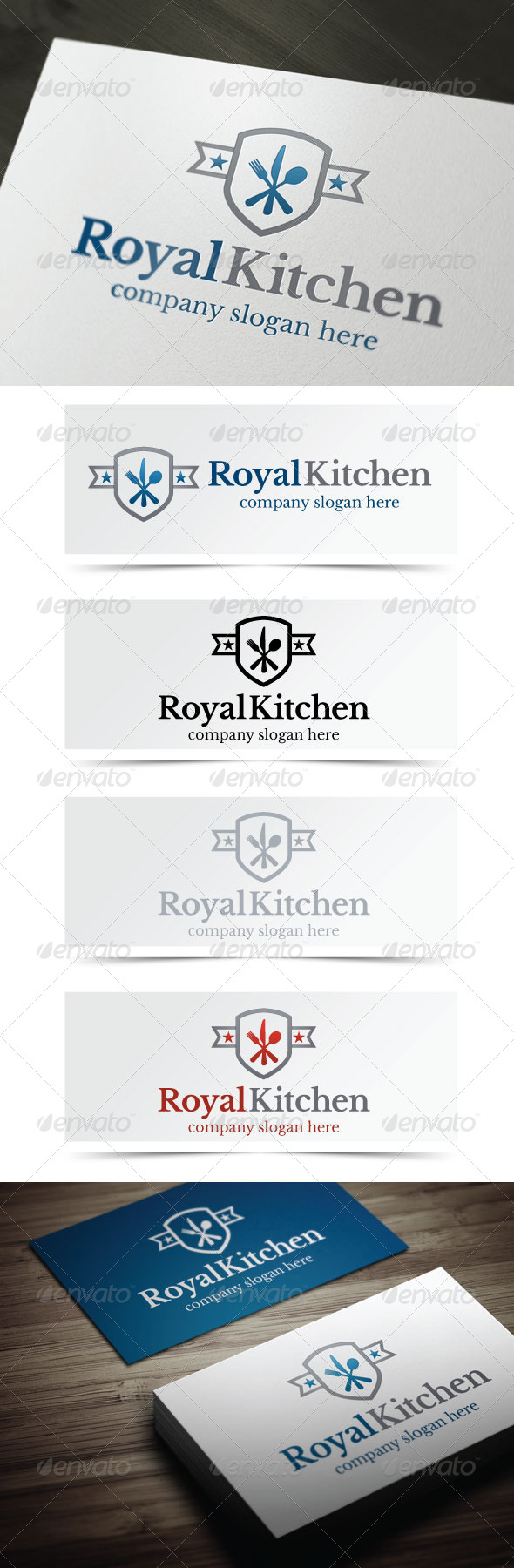 GraphicRiver Royal Kitchen 4945044