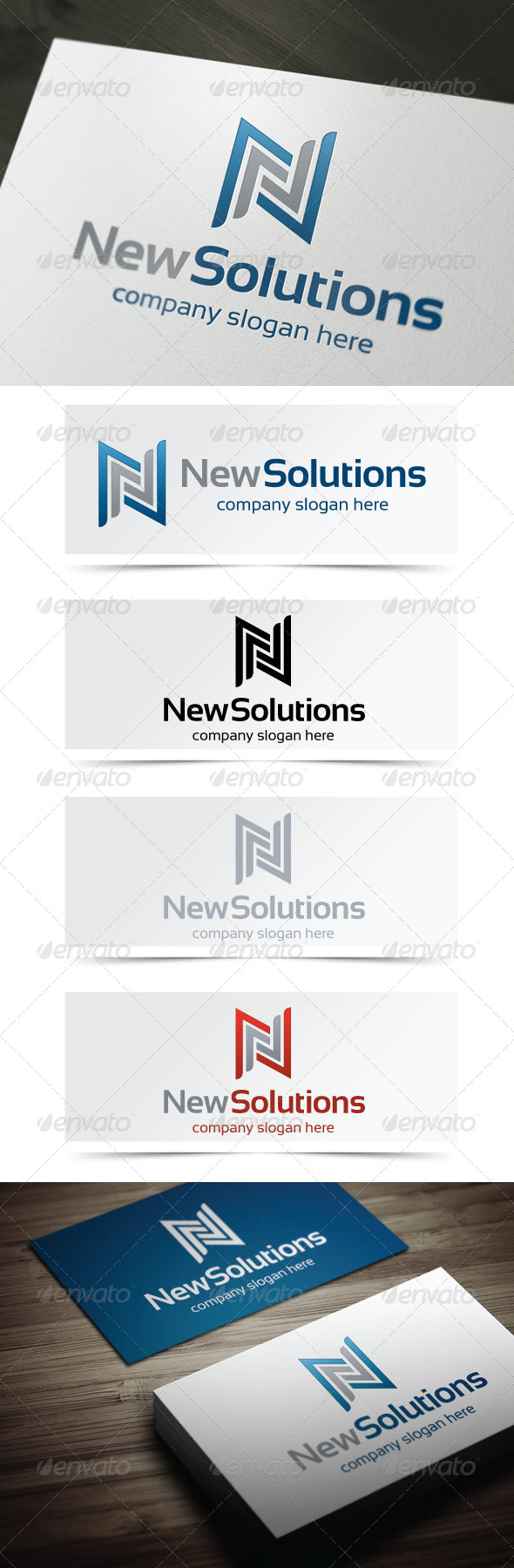 GraphicRiver New Solutions 4945064