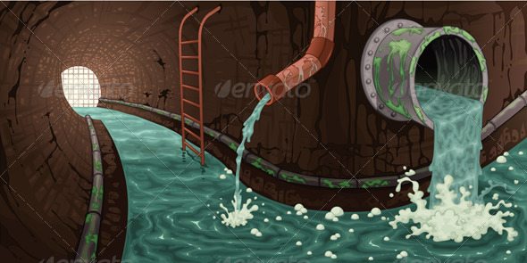 GraphicRiver Inside the Sewer 4945142