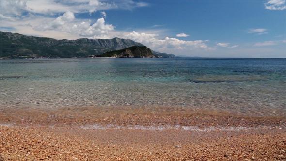 Beautiful Scenery of the Adriatic Sea