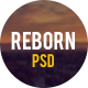 Reborn - Retro PSD Template