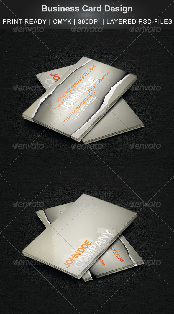 GraphicRiver Business Card Design 4945489
