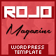 Rojo Responsive WordPress Magazine, Blog Theme - ThemeForest Item for Sale