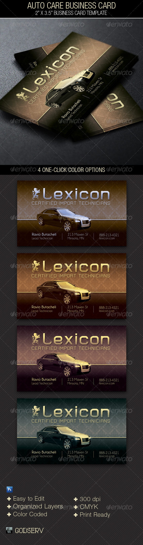 Towing Business Card Templates & Designs from GraphicRiver