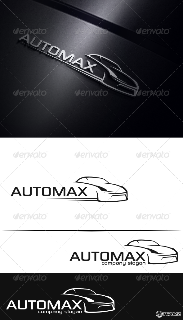 GraphicRiver automax logo templates 4929258
