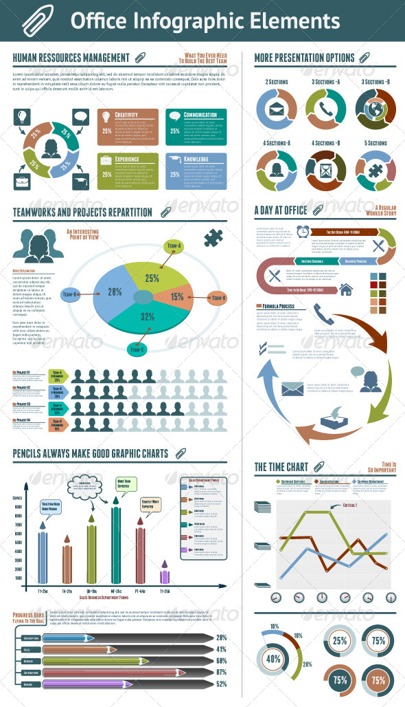 GraphicRiver Office Infographic Elements 4946539