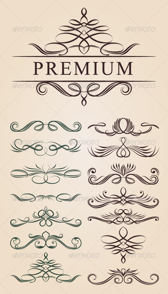 GraphicRiver Calligraphic Decoration Design 4946561