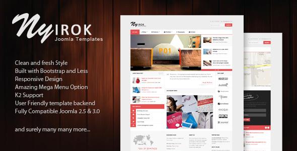 Nyirok - Responsive Portfolio & Business Templates