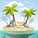 Paradise Island - GraphicRiver Item for Sale