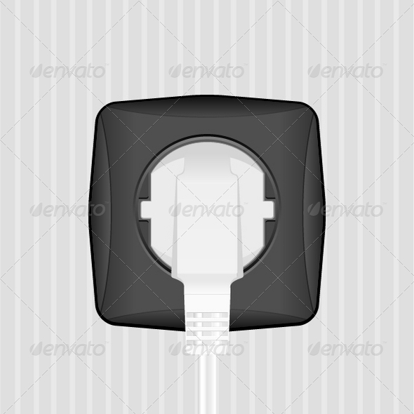 GraphicRiver Electric Plug and Socket 4946931
