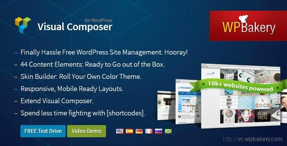 Visual Composer v3.6.13 for WordPress
